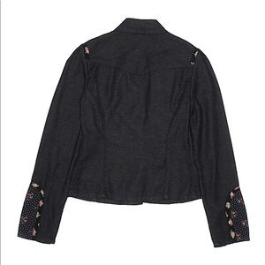 Ted Baker Jackets & Coats - Ted Baker Jean black floral polka dot jacket sz1/4